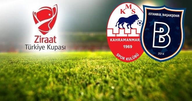 Kahramanmaraşspor-Başakşehir maçının tarihi belli oldu