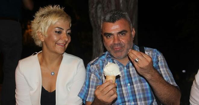 Hataylıların 'Maraş Dondurması' keyfi
