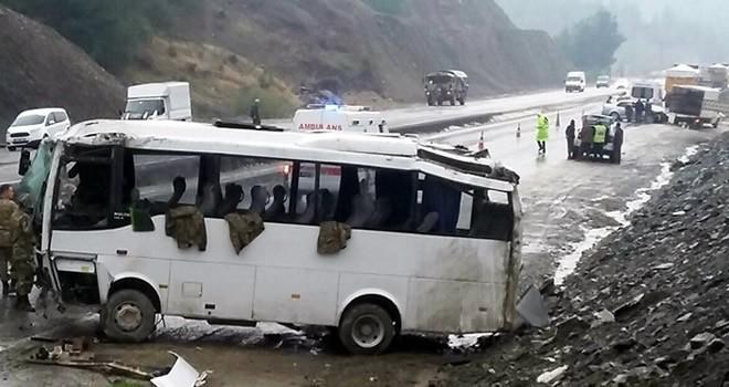 Kahramanmaraş'ta askeri araç kazasında yaralı sayısı yükseldi !