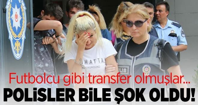 Futbolcu transfer eder gibi hayat kadını transfer etmişler