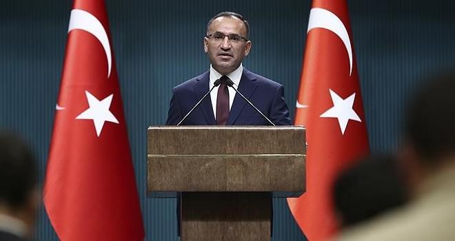 Hükümet sözcüsü Bozdağ: ''OHAL bir defa daha uzatılacak!''