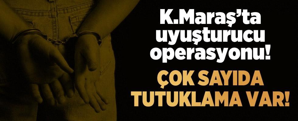 Kahramanmaraş'ta uyuşturucu operasyonu! 5 tutuklama