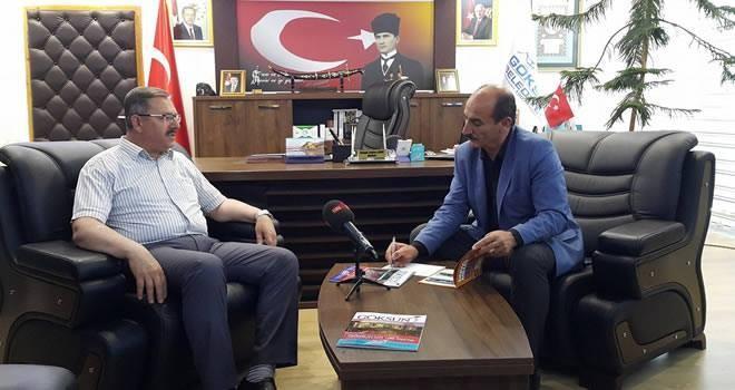 Başkan Aydın: 'Göksun'a verdiğimiz her sözü yaptık'