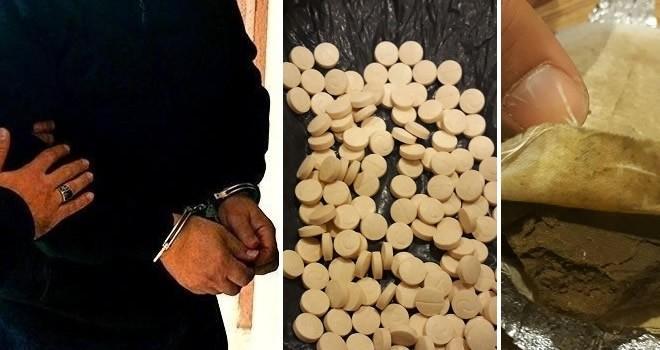 Kahramanmaraş'ta 3 uyuşturucu satıcısı tutuklandı