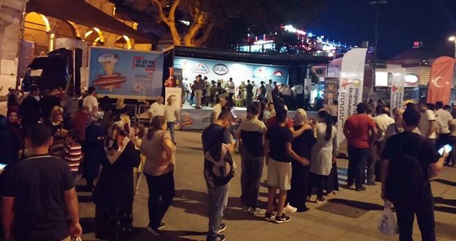 Kahramanmaraş'tan İstanbul'da dondurma şov
