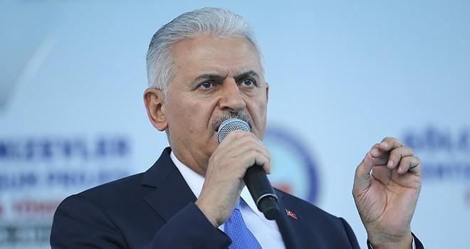 Başbakan Yıldırım'dan flaş açıklama: Fırat Kalkanı'nda olduğu gibi...