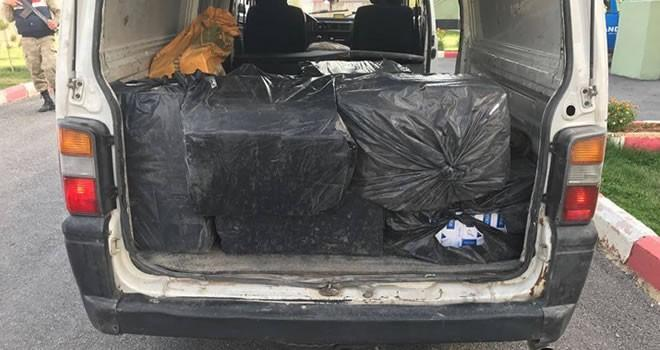 Kahramanmaraş'ta 9 bin 284 paket kaçak sigara ele geçirildi