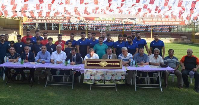Karakucak Güreş Festivali'nde ödül: Altın kemer