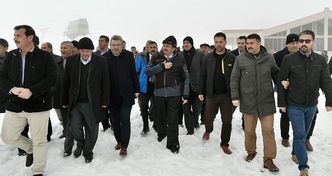 Başkan Erkoç: ''Kahramanmaraş'tan dünyaya mesaj verelim''