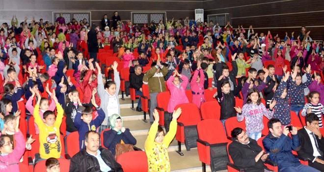 Türkoğlu'da öğrenciler hem eğlendi, hem öğrendi
