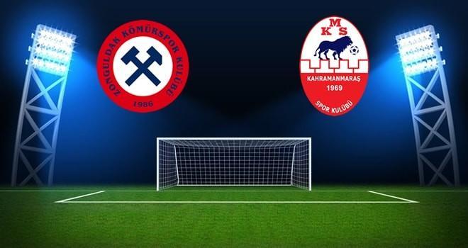 Kahramanmaraşspor, Zonguldak Kömürspor'a konuk olacak