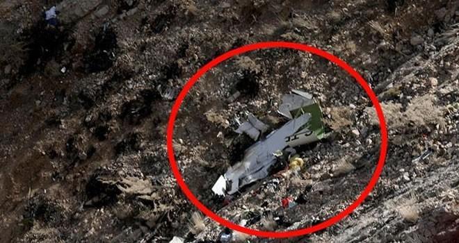 İran'dan düşen uçakla ilgili flaş açıklama! Motorda yangın...