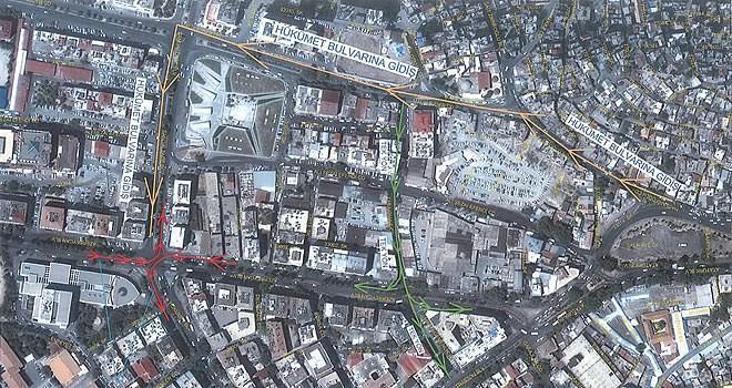 Büyükşehir Belediyesi'nden trafiğe yeni düzen