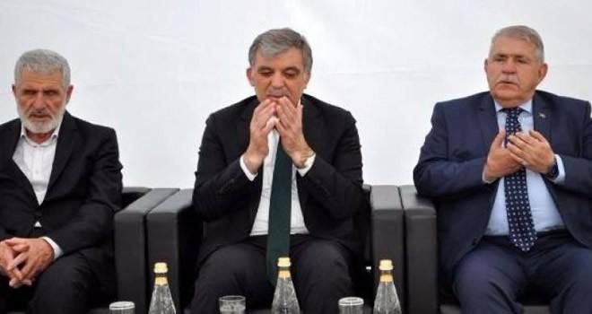 Başkan Mahçiçek'ten Abdullah Gül'e taziye ziyareti