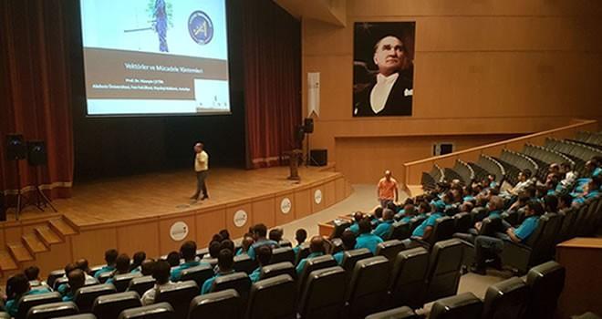 Büyükşehir'den personele ilaçlama eğitimi!