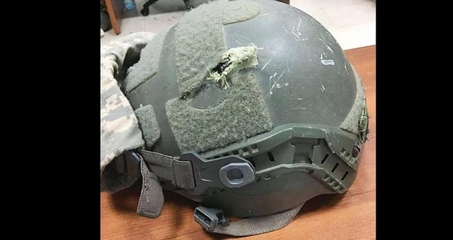 Askeri ölümden Türkiye'de üretilen miğferi kurtardı!