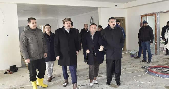Başkan Erkoç: Yedikuyular Ocak ayında hizmette
