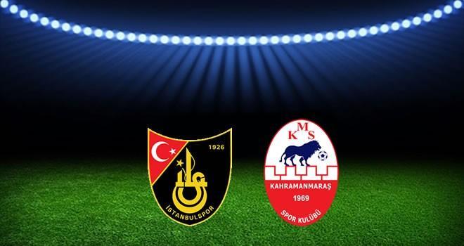 Kahramanmaraşspor ile İstanbulspor'un 6. randevusu