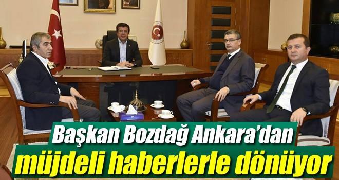Başkan Bozdağ: 'Vatandaşlarımıza müjdeli haberlerle dönüyoruz'