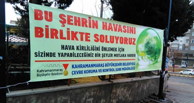 Kahramanmaraş'ta hava kirliliğine karşı uyarı
