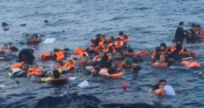 Korkunç olay! 120 kişi denize atıldı 50'si boğuldu