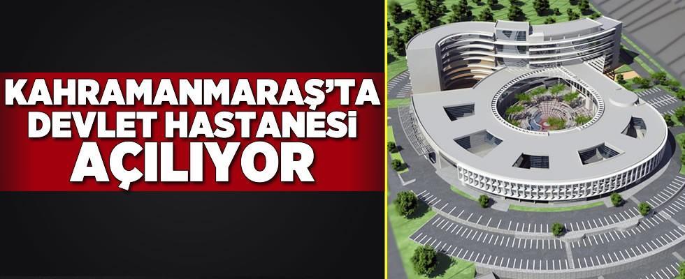 Elbistan Devlet Hastanesi 14 Mart'ta açılıyor