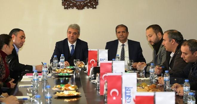 KMTSO'da Suriyeli işadamları ile toplantı