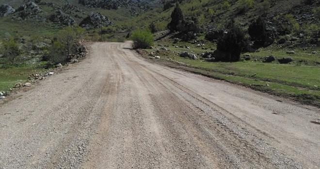 Büyükşehir Belediyesi Çevrepınarı yolu asfalta hazır