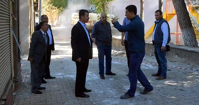 Türkoğlu'nda 'Kent Meydanı' çalışmaları başladı