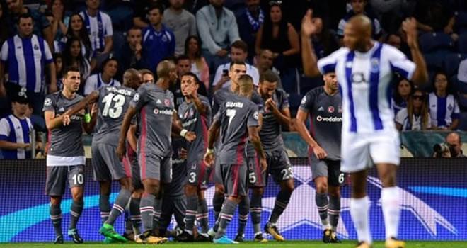 Beşiktaş, Porto'yu 'darmadağın' etti!