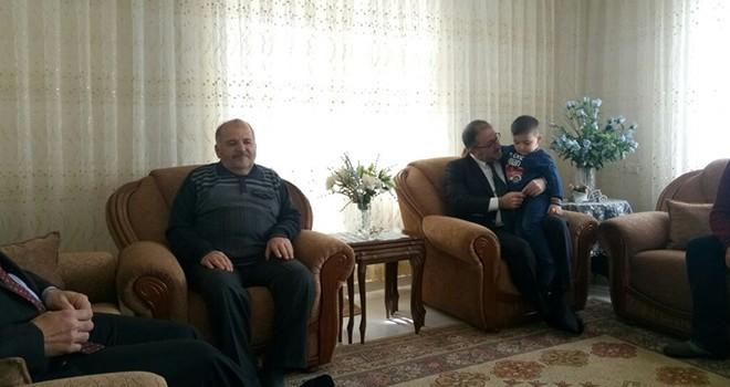 Başkan Güven'den çat kapı ziyaretleri