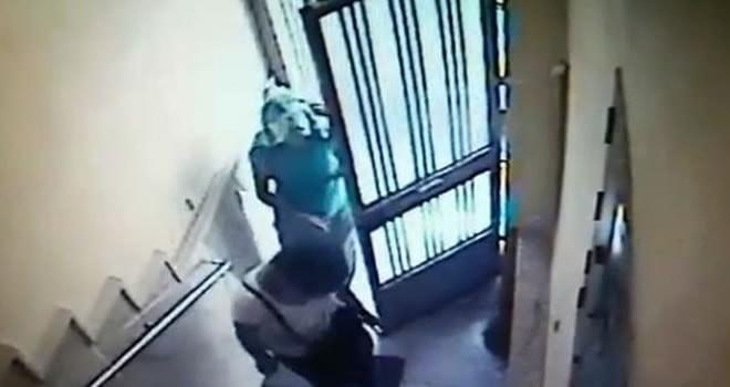Apartmanda, kadın hırsız şüphesi!