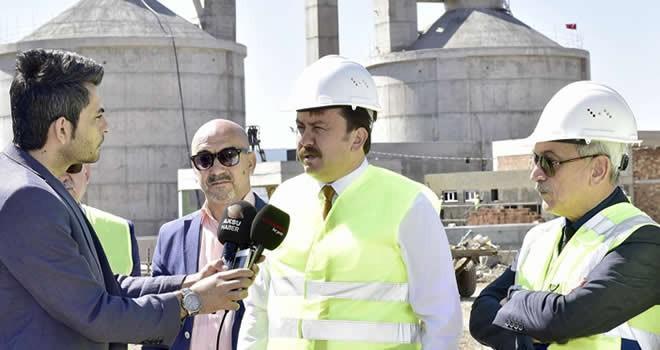 Başkan Erkoç: 'Yıl sonu itibariyle devreye girecek'