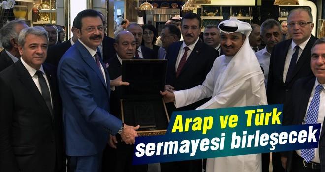 Arap ve Türk sermayesi birleşecek