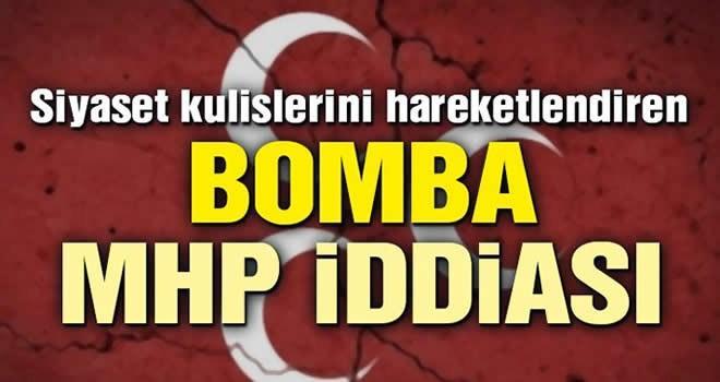 Siyaset kulislerini hareketlendiren MHP iddiası
