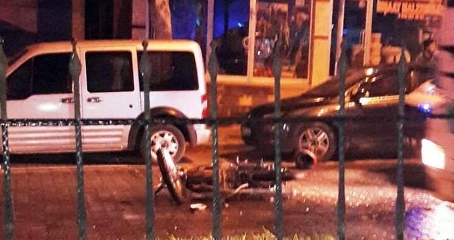 Kahramanmaraş'ta motosiklet kazası can aldı