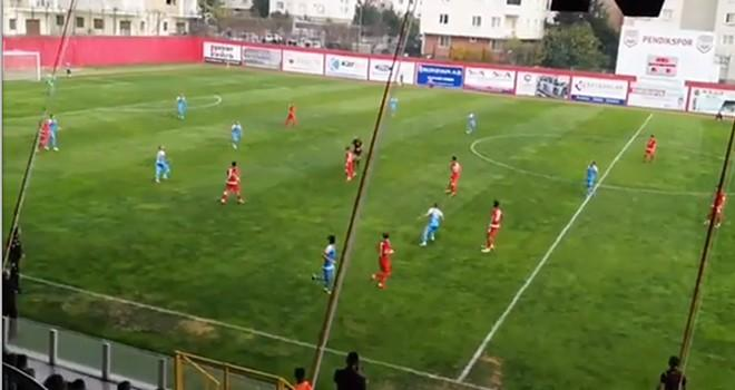 Pendikspor: 3 - Kahramanmaraşspor: 0 (Maç Sonucu)