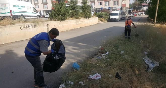 Afşin Belediyesi'nden, mahallelerde kış temizliği
