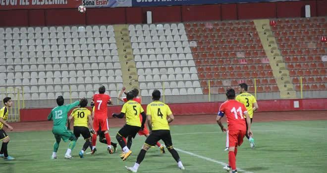 Fidanspor - Türkoğlu Belediyespor maç sonucu: 3-1