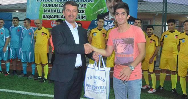 '15 Temmuz Demokrasi' kupası Türkoğlu'nda başladı