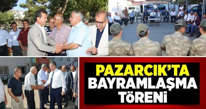 Pazarcık'ta bayramlaşma töreni