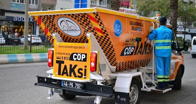 Trabzon Caddesini 'çöp taksi' temizleyecek