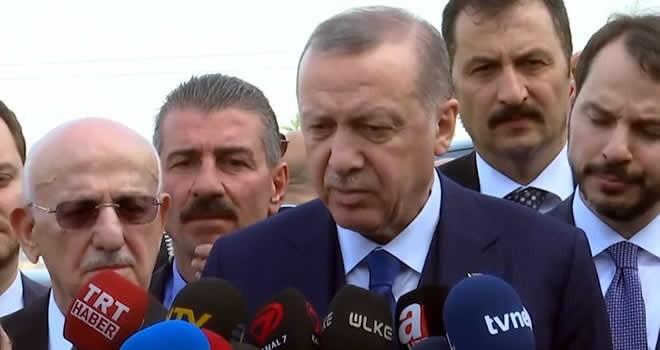 Erdoğan az önce açıkladı: Doğu Guta ve Duma'daki görüntüleri Putin'e gönderdim