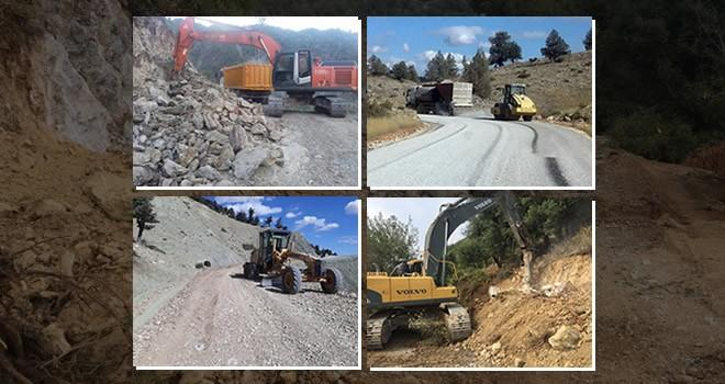 Kahramanmaraş'ta yol çalışmaları dolu dizgin devam ediyor
