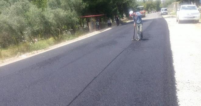 Andırın Yeşilova'da asfalt