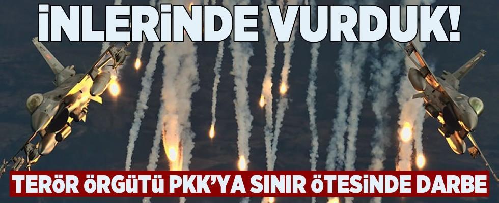 Türk jetleri Kandil'i bombaladı! Hedefler yerle bir edildi