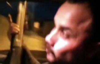 Kahramanmaraş'ta pompalı tüfekle havaya ateş açan kişi görüntüleri sosyal medyadan paylaştı