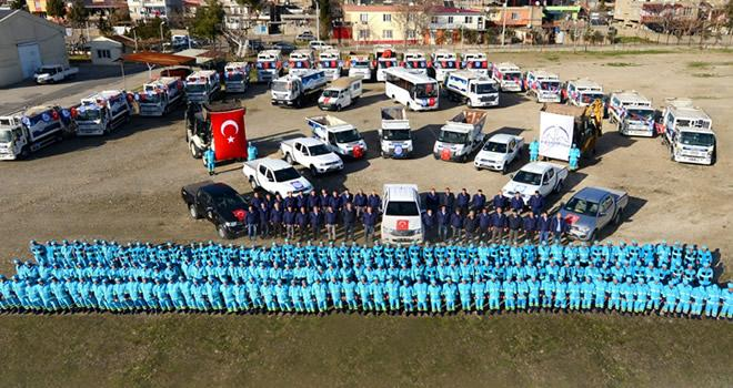 Dulkadiroğlu'nda geçici hayvan pazarı hizmete başladı