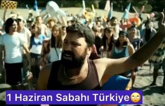 1 Haziran sabahı Türkiye. Sosyal medya espriyi patlattı