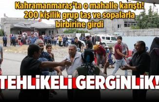 Kahramanmaraş'ta gürültü kavgasında 200 kişi birbirine girdi